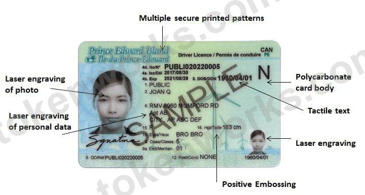 New Prince Edward Island Driver's License