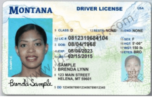 Montana's New Driver License