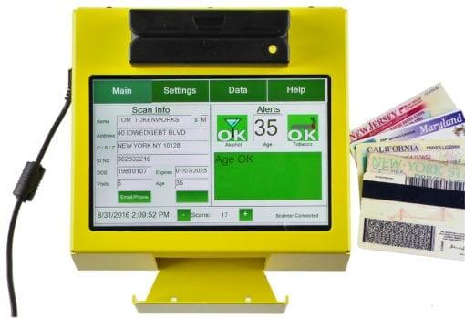 AgeVisor Touch ID Scanner