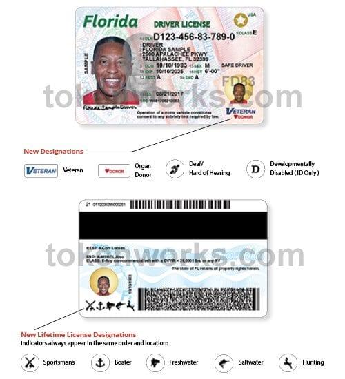 New Florida Driver's License Designations