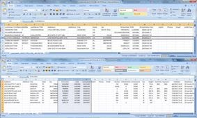 Excel Spreadsheet with Customer Profiles and Custom Tagging Feature