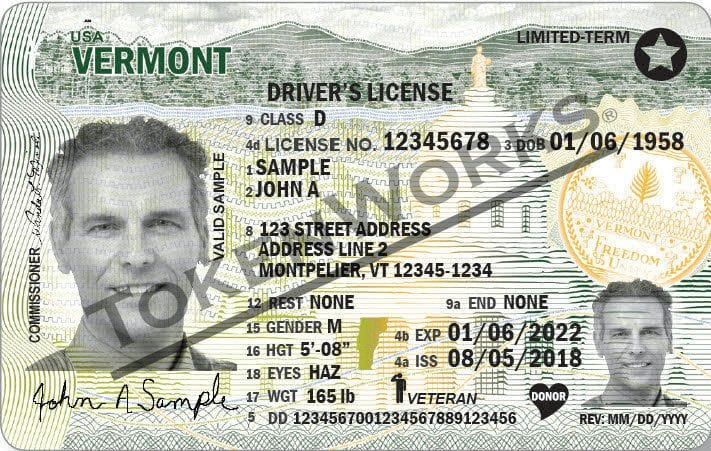 Vermont Department of Motor Vehicles Announces New Driver License