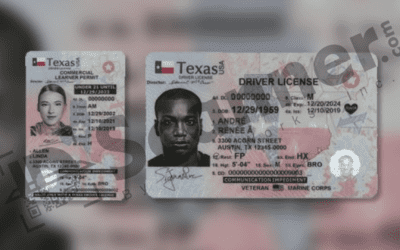Texas DPS Unveils New Design for Driver Licenses