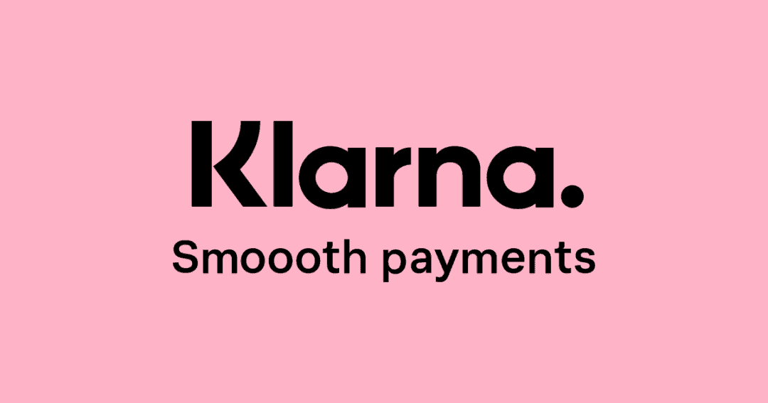 klarna wordmark logo header