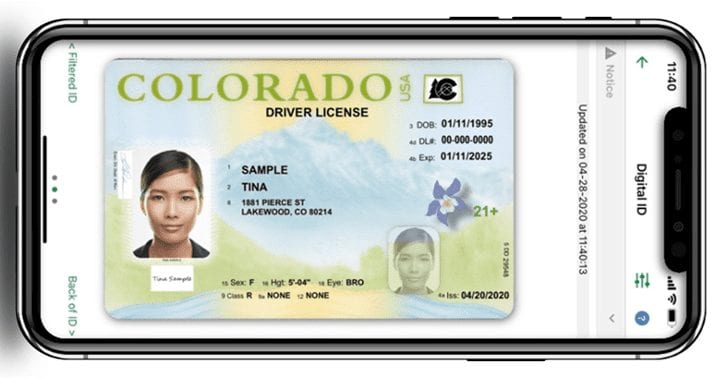Federal legislation approved allowing digital documents as Real ID, including driver's licenses stored or accessed via electronic means, such as mobile or digital driver's licenses.