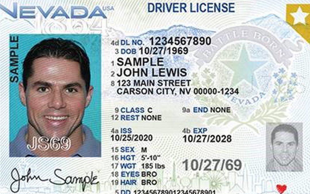 Nevada DMV Unveils New Driver's License Design